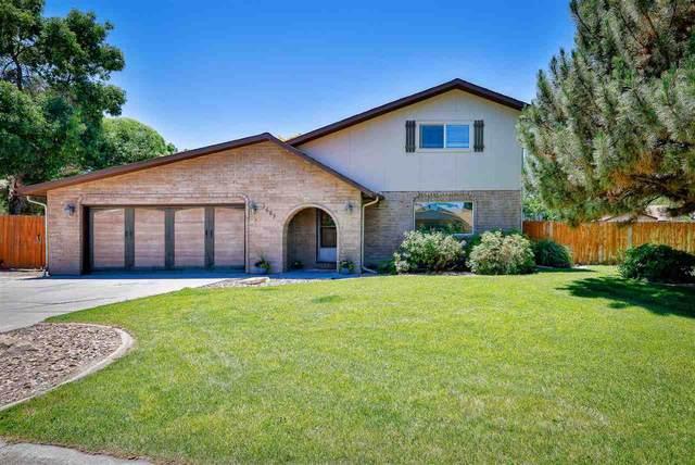 2687 Del Mar Drive, Grand Junction, CO 81506 (MLS #20213026) :: Michelle Ritter