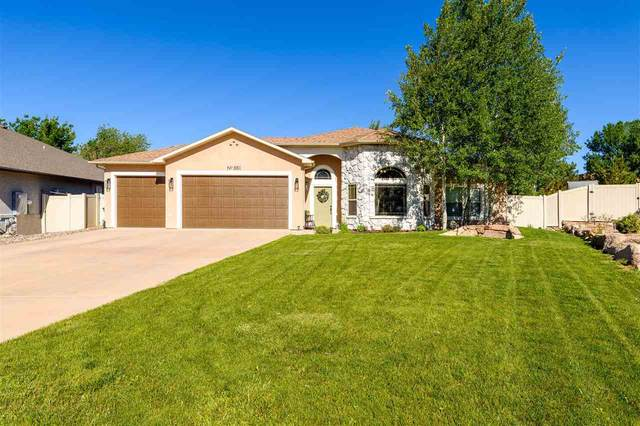 881 Grand Vista Way, Grand Junction, CO 81506 (MLS #20213147) :: Lifestyle Living Real Estate