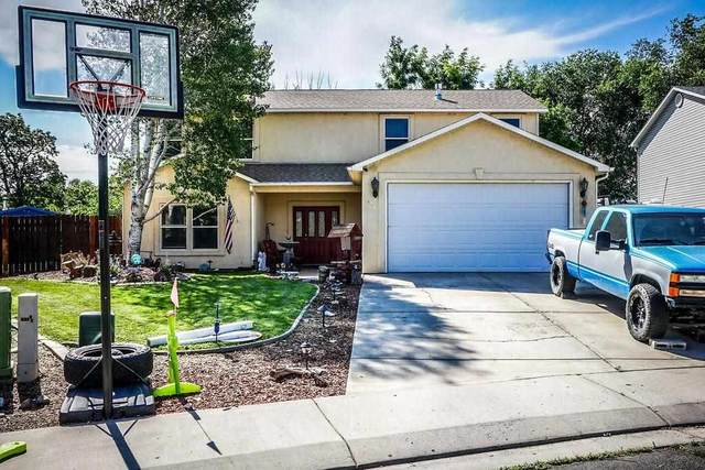 318 Talon Drive, Grand Junction, CO 81503 (MLS #20213780) :: The Joe Reed Team