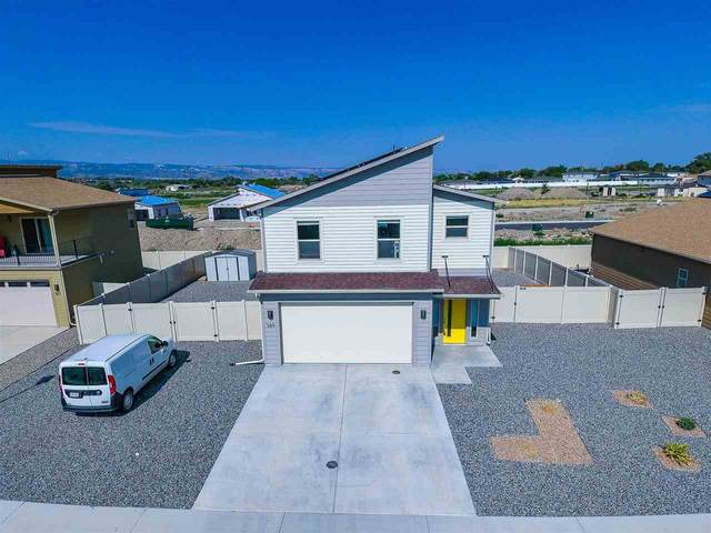 389 Blue River Drive, Grand Junction, CO 81504 (MLS #20213946) :: The Christi Reece Group