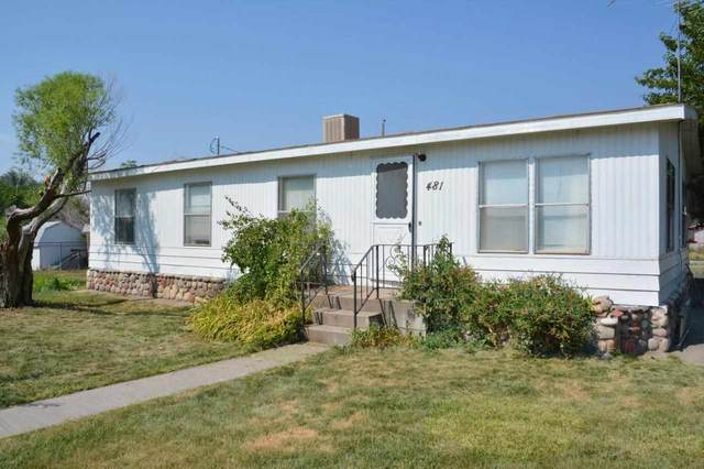 481 Curtis Avenue, De Beque, CO 81630 (MLS #20214211) :: The Grand Junction Group with Keller Williams Colorado West LLC