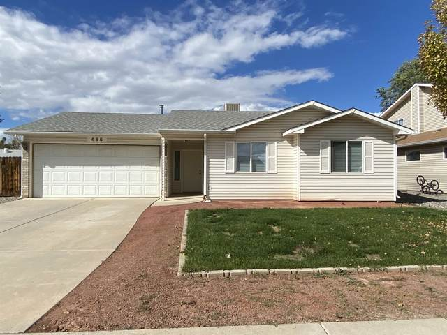 485 Ridge Lane, Grand Junction, CO 81504 (MLS #20215395) :: The Grand Junction Group with Keller Williams Colorado West LLC