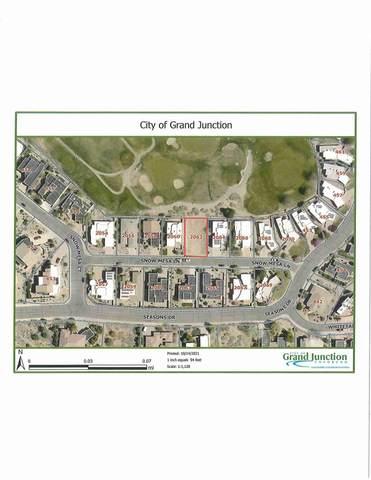 2062 Snow Mesa Lane, Grand Junction, CO 81507 (MLS #20215545) :: The Joe Reed Team