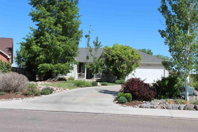 270 Vista Valley Drive, Fruita, CO 81521 (MLS #20182758) :: The Grand Junction Group