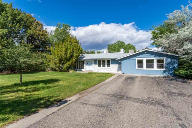 662 Round Hill Drive, Grand Junction, CO 81506 (MLS #20193463) :: The Christi Reece Group