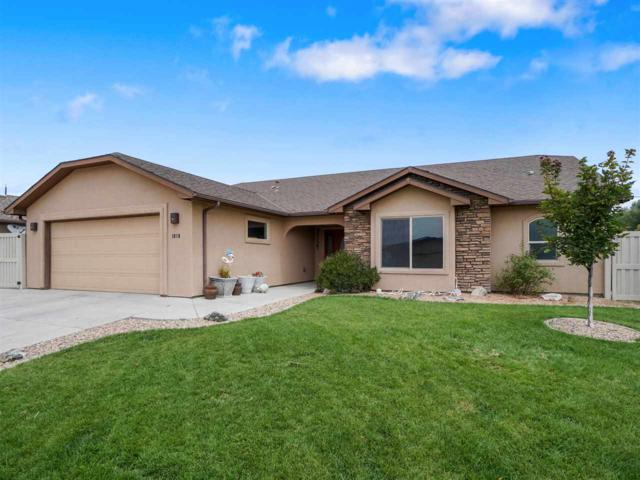 1018 Echo Canyon Street, Fruita, CO 81521 (MLS #20194223) :: CapRock Real Estate, LLC