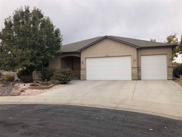 239 Papago Street, Grand Junction, CO 81503 (MLS #20196080) :: The Christi Reece Group