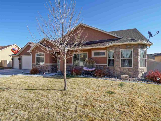 636 Allegheny Drive, Grand Junction, CO 81504 (MLS #20196657) :: The Christi Reece Group