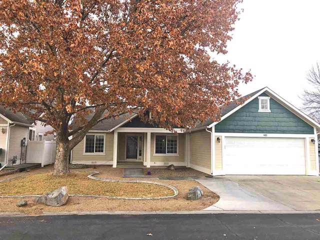 603 Cottage Meadows Court, Grand Junction, CO 81504 (MLS #20200339) :: The Christi Reece Group