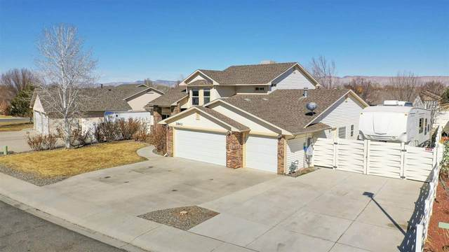 2862 Tyndale Way, Grand Junction, CO 81503 (MLS #20210857) :: Lifestyle Living Real Estate
