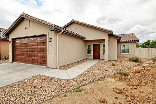 207 Kelso Mesa Drive, Grand Junction, CO 81503 (MLS #20212296) :: The Danny Kuta Team