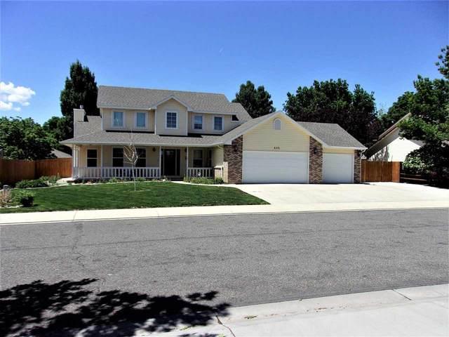 645 Tamarron Drive, Grand Junction, CO 81506 (MLS #20212680) :: The Joe Reed Team