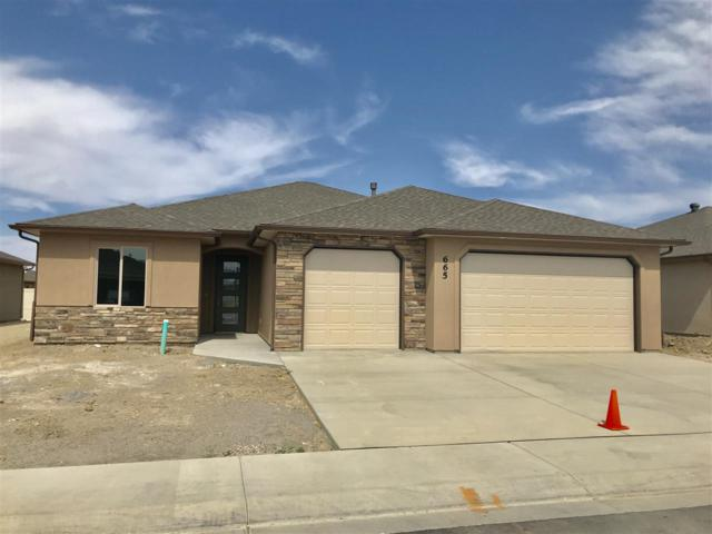 665 Strathearn Drive, Grand Junction, CO 81504 (MLS #20180170) :: The Christi Reece Group