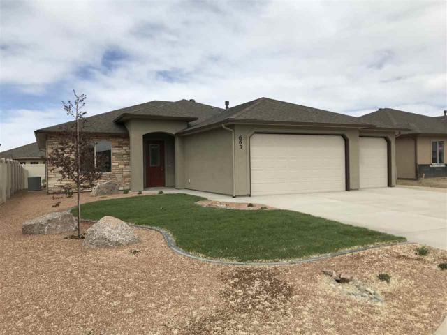 663 Strathearn Drive, Grand Junction, CO 81504 (MLS #20180178) :: The Christi Reece Group