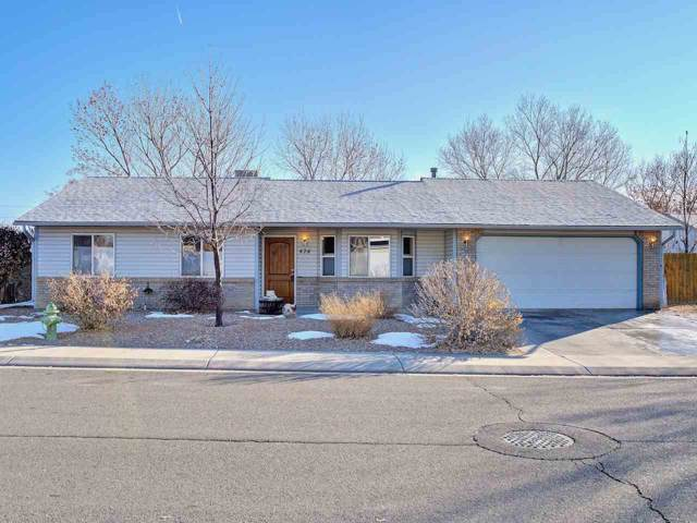 474 Forelle Street, Clifton, CO 81520 (MLS #20200178) :: CapRock Real Estate, LLC