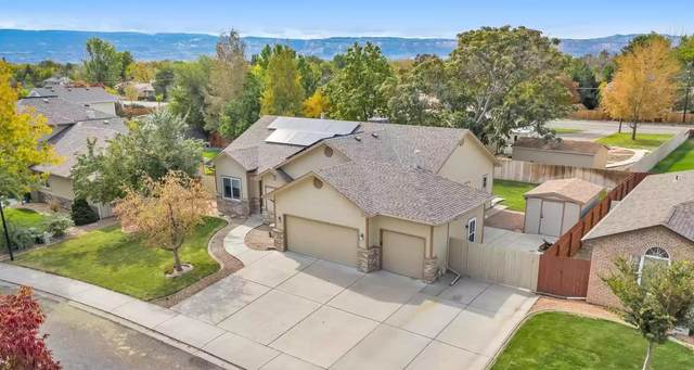 655 Grand View Drive, Grand Junction, CO 81506 (MLS #20215458) :: The Christi Reece Group
