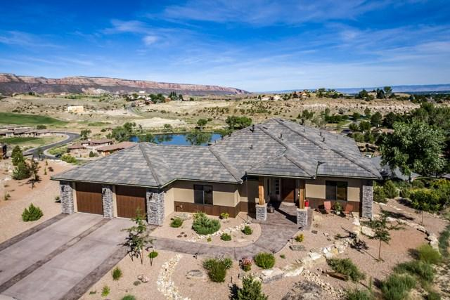 351 Redlands Mesa Court, Grand Junction, CO 81507 (MLS #20173293) :: Keller Williams CO West / Mountain Coast Group