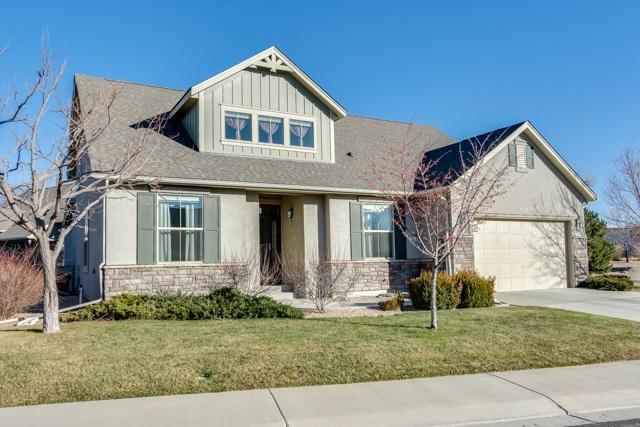 606 Eldorado Drive, Grand Junction, CO 81505 (MLS #20176134) :: The Christi Reece Group