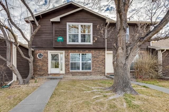596 W Indian Creek Drive #2, Grand Junction, CO 81501 (MLS #20181378) :: Keller Williams CO West / Mountain Coast Group