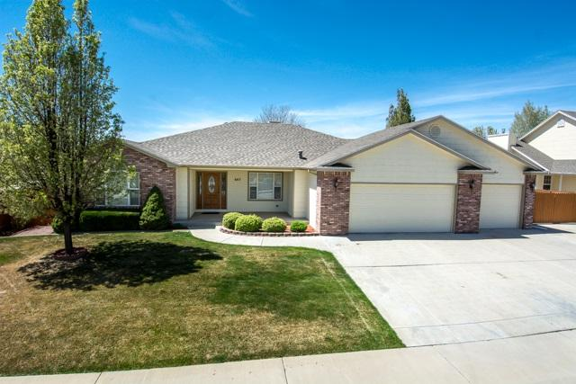 643 Tamarron Drive, Grand Junction, CO 81506 (MLS #20182199) :: The Christi Reece Group