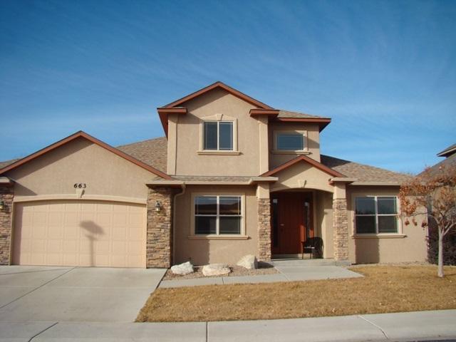 663 Cloverglen Drive, Grand Junction, CO 81504 (MLS #20180357) :: The Christi Reece Group