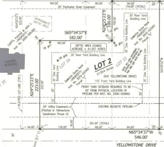641-Lot 2 Yellowstone Drive, Hebron, IN 46341 (MLS #494751) :: Lisa Gaff Team