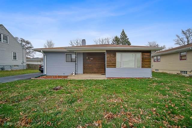 5841 Jackson Street, Merrillville, IN 46410 (MLS #496588) :: McCormick Real Estate