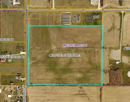 0 W Pahs Road & N 900 W, Michigan City, IN 46360 (MLS #485349) :: Lisa Gaff Team