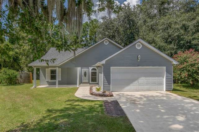 151 Lakeside Drive, Kingsland, GA 31548 (MLS #1612641) :: Coastal Georgia Living
