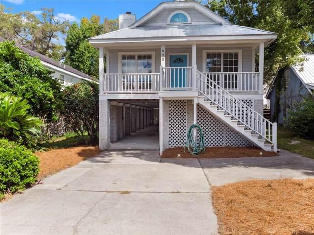 508 Atlantic Drive, St Simons Island, GA 31522 (MLS #1612728) :: Coastal Georgia Living