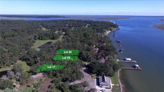 19 Sutherland Bluff Drive, Townsend, GA 31331 (MLS #1614935) :: Coastal Georgia Living