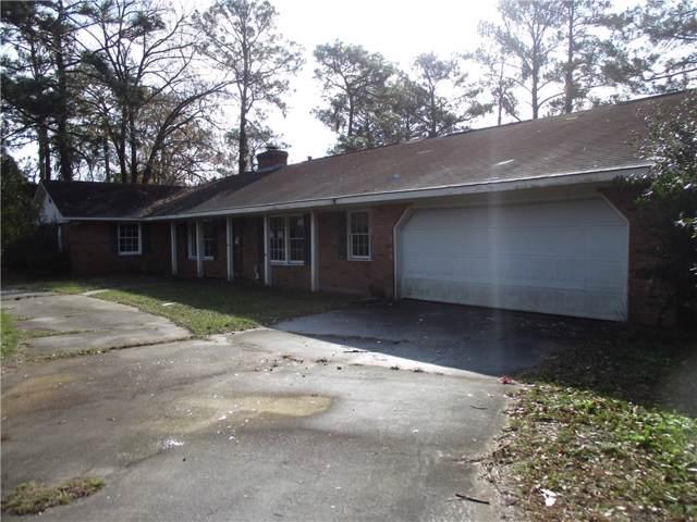 109 Pine Lake Drive, Brunswick, GA 31525 (MLS #1615132) :: Coastal Georgia Living