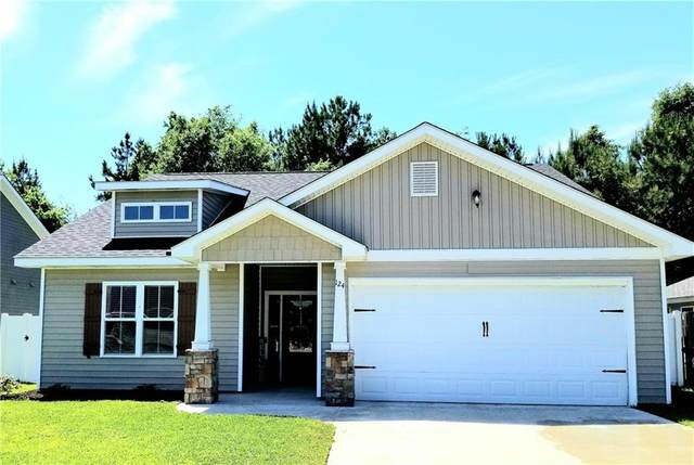 124 Tanglewood Drive, Brunswick, GA 31525 (MLS #1616858) :: Coastal Georgia Living