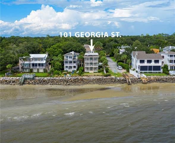 101 Georgia Street, St. Simons Island, GA 31522 (MLS #1621070) :: Coastal Georgia Living