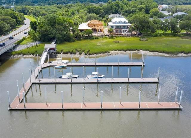 416 Yacht Club Lane, St. Simons Island, GA 31522 (MLS #1622654) :: Coastal Georgia Living