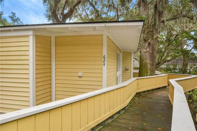 624 Executive Golf Villas, St. Simons Island, GA 31522 (MLS #1622776) :: Coastal Georgia Living