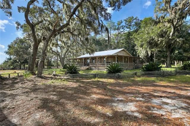 3.5 acres Riverside  Hird Island, Darien, GA 31305 (MLS #1622998) :: Coastal Georgia Living
