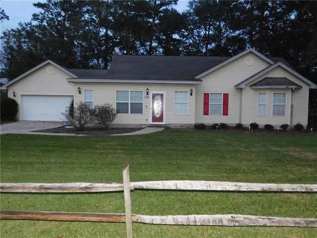 126 Tison Drive, Brunswick, GA 31523 (MLS #1623021) :: Coastal Georgia Living