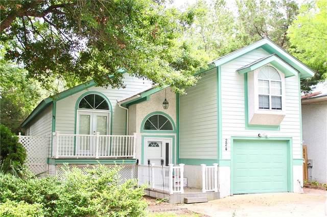 224 Circle Drive, St. Simons Island, GA 31522 (MLS #1623839) :: Coastal Georgia Living