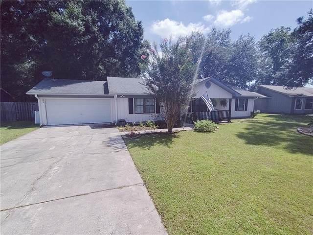 206 N Woodvalley Drive, Kingsland, GA 31548 (MLS #1628821) :: Coastal Georgia Living