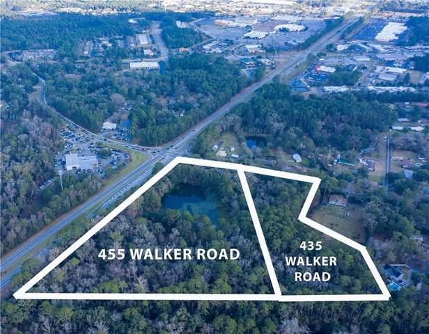 435 & 455 Walker Road, Brunswick, GA 31520 (MLS #1629021) :: Coastal Georgia Living