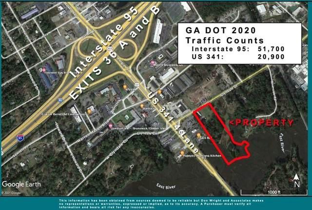 108 & 112 Glyndale  6.8 Ac Drive, Brunswick, GA 31520 (MLS #1629121) :: Coastal Georgia Living