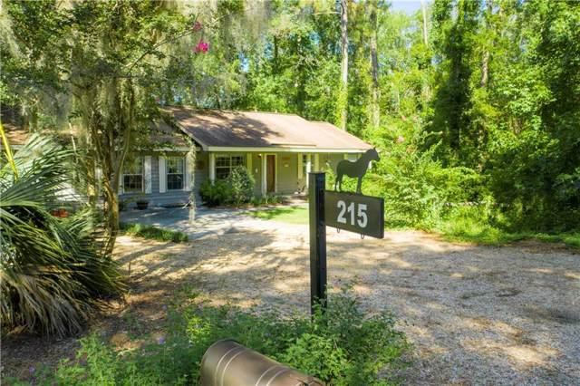 215 Apache Road, Brunswick, GA 31525 (MLS #1610533) :: Coastal Georgia Living