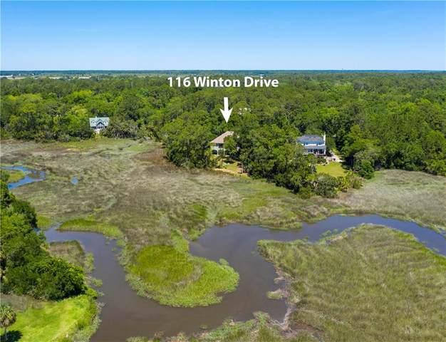 116 Winton Drive, Brunswick, GA 31525 (MLS #1616837) :: Coastal Georgia Living