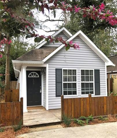 409 Palmetto Street, St. Simons Island, GA 31522 (MLS #1624653) :: Coastal Georgia Living