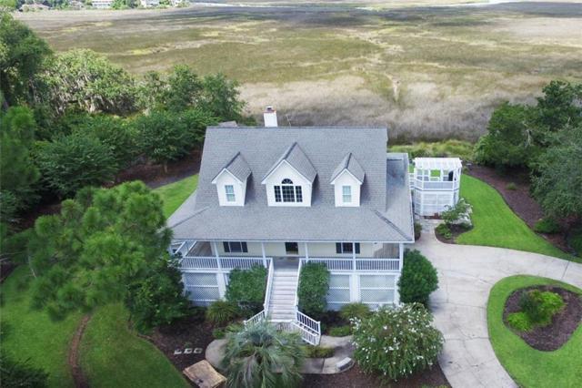 205 Dunbar Drive, St. Simons Island, GA 31522 (MLS #1612013) :: Coastal Georgia Living