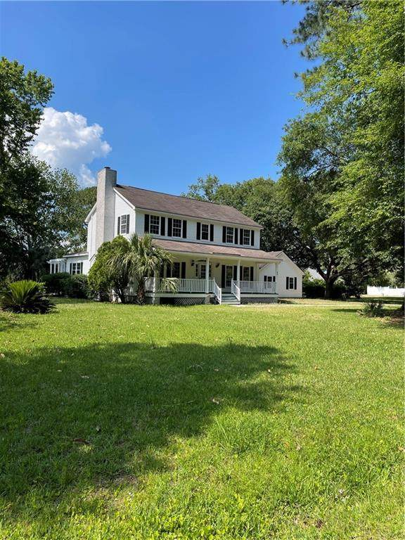 84 Thornhill Drive, Brunswick, GA 31525 (MLS #1626987) :: Coastal Georgia Living