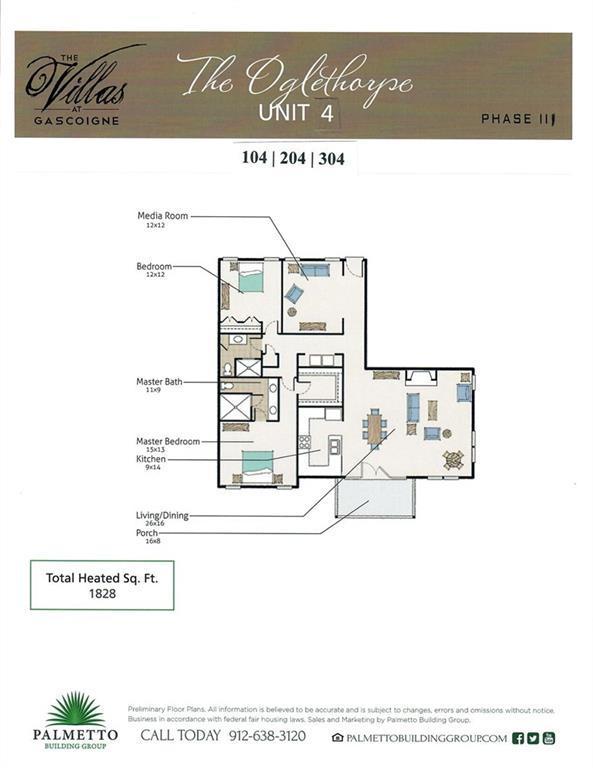 117 Gascoigne Ave #204, St. Simons Island, GA 31522 (MLS #1610117) :: Palmetto Realty Group
