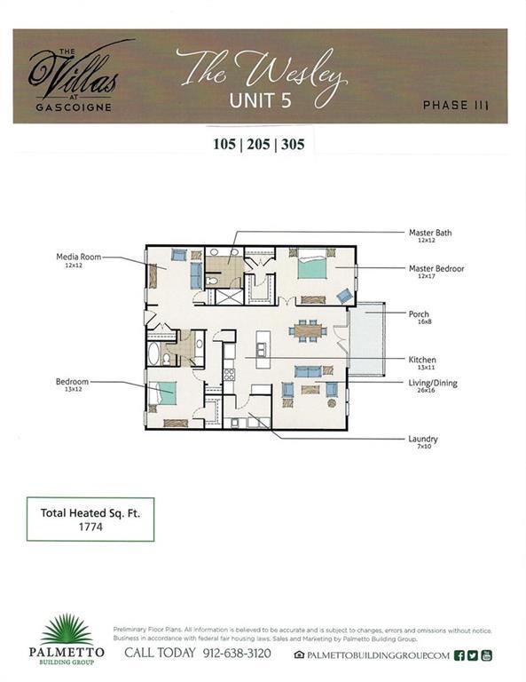117 Gascoigne Ave #205, St. Simons Island, GA 31522 (MLS #1610122) :: Palmetto Realty Group