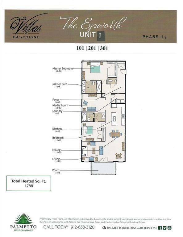 117 Gascoigne Ave #301, St. Simons Island, GA 31522 (MLS #1610103) :: Palmetto Realty Group